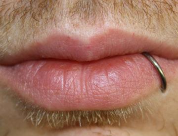 Labret, Mund Lippe - Blutkunst Tattoo