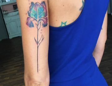 Aquarell Tattoo Tattoos Watercolor Blume